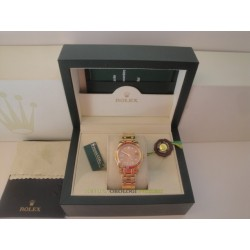 Rolex replica lady pearlmaster yellow red bezel oro giallo orologio replica copia imitazione