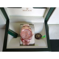 Rolex replica day-date full rose gold orologio replica copia imitazione