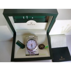 Rolex replica explorer II big basilea white dial 42mm orologio replica copia imitazione