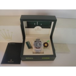 Rolex replica submariner ceramica data black dial orologio replica copia imitazione