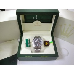 Rolex replica explorer II big basilea black dial 42mm orologio replica copia imitazione